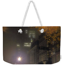 Weekender Tote Bag featuring the photograph Bigga Mist by Robert McCubbin