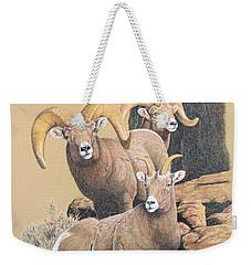 Bighorn Sheep Weekender Tote Bag