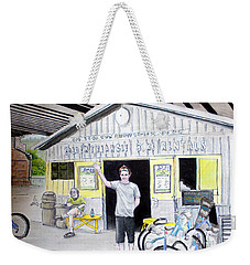 Bike Pittsburgh Weekender Tote Bag