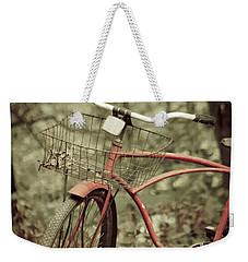 Bike Weekender Tote Bag by Shane Holsclaw