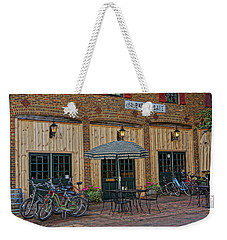 Bike Shop Cafe Katty Trail St Charles Mo Dsc00860 Weekender Tote Bag