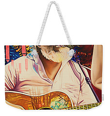 Bill Nershi At Horning's Hideout Weekender Tote Bag