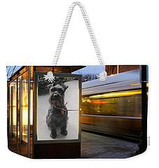 Billboard Siren Weekender Tote Bag by Pat Purdy
