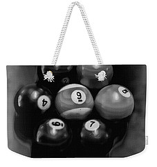 Billiards Art - Your Break - Bw  Weekender Tote Bag