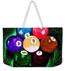 Billiards Art - Your Break Weekender Tote Bag by Lesa Fine
