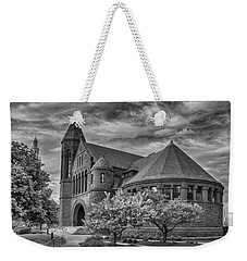 Billings Library At Uvm Burlington  Weekender Tote Bag by Guy Whiteley