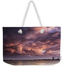 Billowing Clouds Weekender Tote Bag