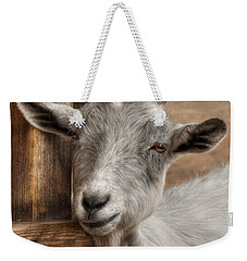 Billy Goat Weekender Tote Bag by Lori Deiter
