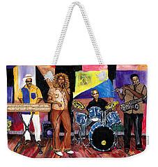 Billy's World Weekender Tote Bag