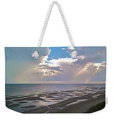Biloxi Sandbar  Weekender Tote Bag