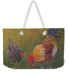 Biltmore Chickens  Weekender Tote Bag