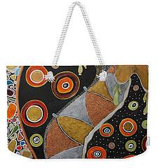 Biological Rhythms.. Weekender Tote Bag