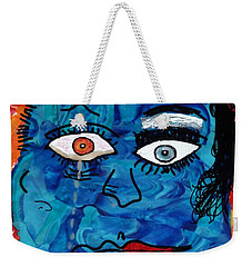 Bipolar Blues Weekender Tote Bag