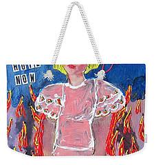 Bipolar Weekender Tote Bag
