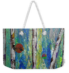 Birch - Lt. Green 4 Weekender Tote Bag