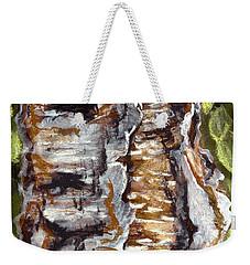 Birch Peel Weekender Tote Bag by Heather  Hiland