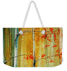 Birch Tree Forest - Left Weekender Tote Bag