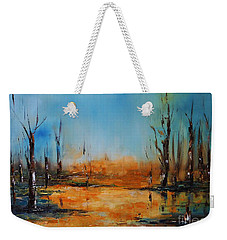 Birches Pond Weekender Tote Bag