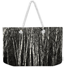 Birches Weekender Tote Bag