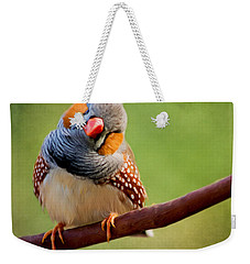 Bird Art - Change Your Opinions Weekender Tote Bag by Jordan Blackstone