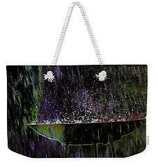 Bird Bath Explosion Weekender Tote Bag