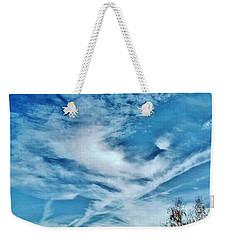 Bird Cloud Soaring By Weekender Tote Bag