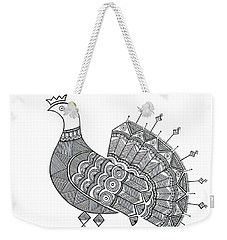 Bird Dove Weekender Tote Bag
