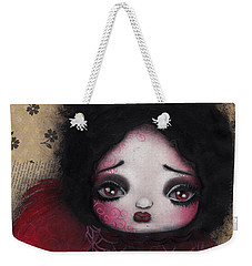 Bird Girl #1 Weekender Tote Bag by Abril Andrade Griffith