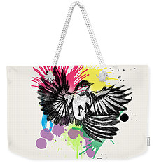 Bird Weekender Tote Bag by Mark Ashkenazi
