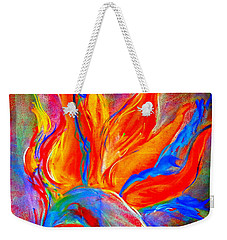 Bird Of Paradise Flower Weekender Tote Bag