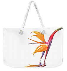 Bird Of Paradise Reflections Weekender Tote Bag