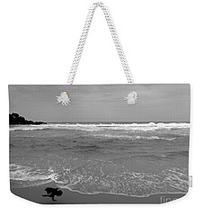 Bird On Kovalam Beach Weekender Tote Bag
