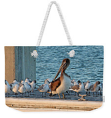 Birds - Among Friends Weekender Tote Bag
