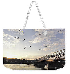 Birds And Bridges Weekender Tote Bag