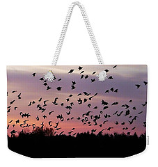 Birds At Sunrise Weekender Tote Bag by Aimee L Maher Photography and Art Visit ALMGallerydotcom
