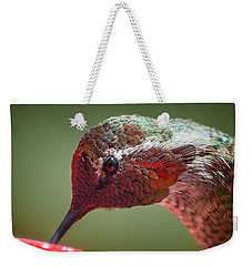 Bird's Eye View Weekender Tote Bag