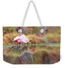 Birds Eye View Weekender Tote Bag by Carol Groenen