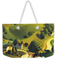 Birds Eye View Weekender Tote Bag by Robin Moline