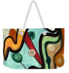 Birds In Flight Weekender Tote Bag