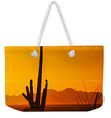 Birds In Silhouette Weekender Tote Bag