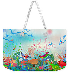 Birds Of My Landscapes - Limited Edition  Of 15 Weekender Tote Bag by Gabriela Delgado
