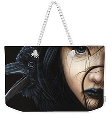 Birds Of Prey- Raven Weekender Tote Bag