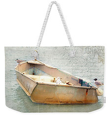 Birds On A Boat In The Basin Weekender Tote Bag
