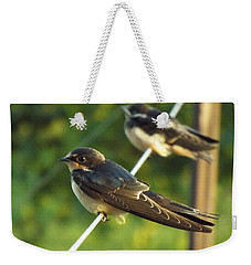 Birds On A Wire Weekender Tote Bag