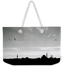 Birds Over The Golden Horn Weekender Tote Bag