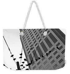 Birds Station Weekender Tote Bag by Jonathan Nguyen