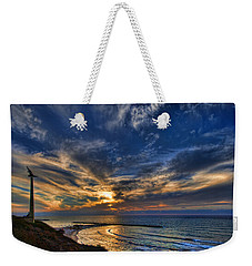 Birdy Bird At Hilton Beach Weekender Tote Bag by Ron Shoshani
