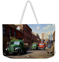 Birmingham Fruit And Veg Market. Weekender Tote Bag