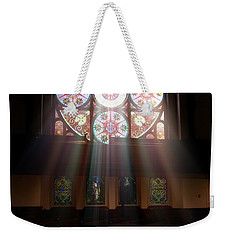 Birmingham Stained Glass Weekender Tote Bag