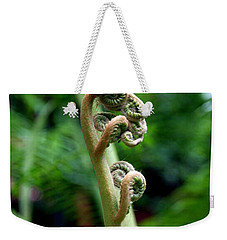 Birth Of A Fern Weekender Tote Bag